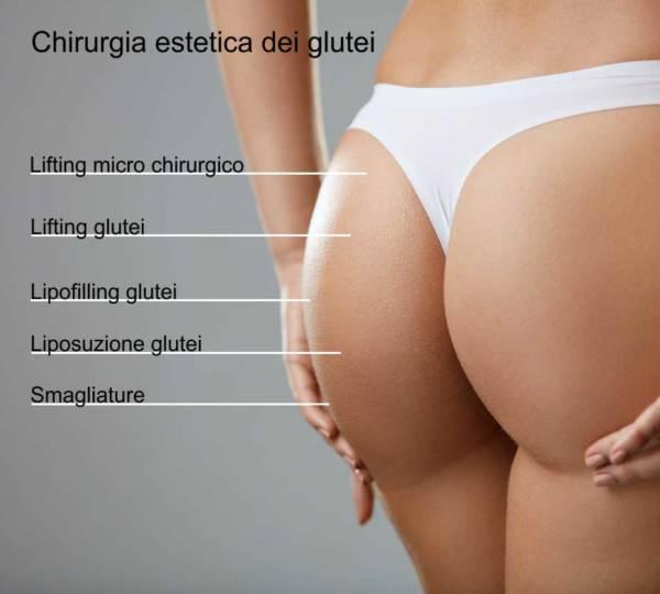 chirurgia estetica glutei