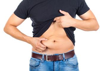 Liposuzione addominale maschile