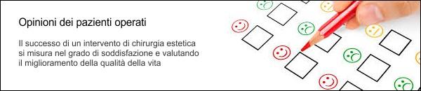 Opinioni Pallaoro: Leggi cosa dicono i pazienti operati. Clinica Pallaoro - Chirurgia Estetica